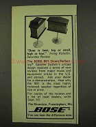 1973 Bose 901 Direct/Reflecting Speaker System Ad