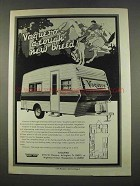 1974 Mobile Scout Vaquero Travel Trailer Ad