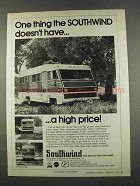 1974 Southwind Motor Homes Ad - Doesn't Have