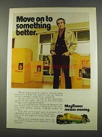 1974 Mayflower Mover Ad - Move on to Something Better