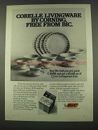 1974 Bic M-19 Medium Point and AF-49 Fine Point Pens Ad