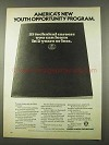 1974 U.S. Office of Education Ad - Youth Opportunity