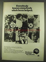 1974 United Way Ad - Everybody Knows Somebody