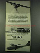 1974 Questar Telescope Ad - Photographs Firefighters