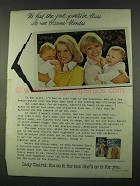 1974 Lady Clairol Haircolor Ad - Post Partum Blues
