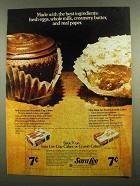 1974 Sara Lee Cup Cakes and Crumb Cakes Ad