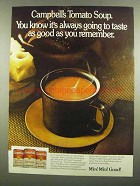 1974 Campbell's Tomato Soup Ad - Good As You Remember