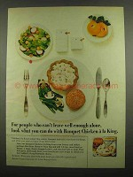 1974 Banquet Chicken a la King Ad - Well Enough