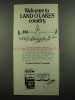 1974 Land O Lakes Milk, Butter and Cheese Ad
