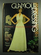 1974 Sears Dresses Ad - Glamour Dressing