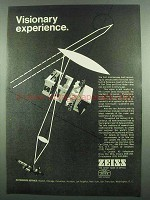 1974 Zeiss Microscope Ad - Visionary Experience