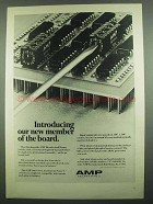 1974 AMP Hexadecimal Rotary Switch Ad - Member of Board