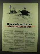 1974 American Electric Power Ad - Heard About Scrubbers