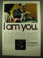 1974 Hitachi Television Ad - I Am You