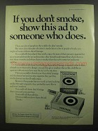 1974 Vantage Cigarettes Ad - If You Don't Smoke