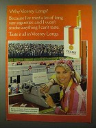 1974 Viceroy Cigarettes Ad - Why Viceroy Longs?