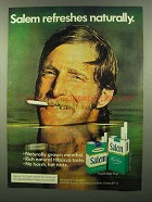 1974 Salem Cigarettes Ad - Refreshes Naturally