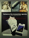 1974 Parliament Cigarettes Ad - Hollywood Columnist