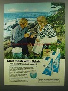 1974 Belair Cigarettes Advertisement - Right Touch of Menthol