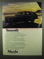 1974 Mazda Car Ad - Smooth