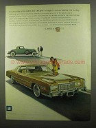 1975 Cadillac Eldorado Ad - It Can Take Decades