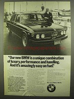 1974 BMW Car Ad - Luxury, Performance and Handling
