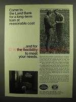 1974 Federal Land Bank Association Ad - Reasonable Cost