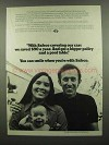 1974 Safeco Insurance Ad - We Saved $90 a Year