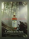 1974 Canadian Mist Whisky Ad - Canada At Its Best