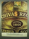 1974 Chivas Regal Scotch Ad - Our Label Says to You