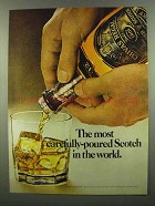 1974 Chivas Regal Scotch Ad - Most Carefully-Poured