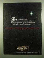 1974 Johnnie walker Black Label Scotch Ad - Twinkle