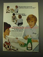 1974 Palmolive Dishwashing Liquid Ad - Do You Expect