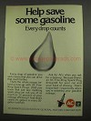 1974 AC Fire-Ring Spark Plugs Ad - Save Some Gasoline