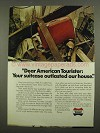 1974 American Tourister Luggage Ad - Outlasted House