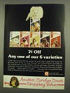 1974 Purina Cat Chow Ad - Any of Our 6 Varieties