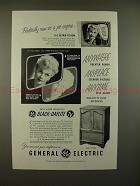 1952 GE Black-Daylight Television TV Ad w/ Lucille Ball