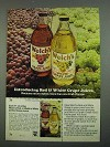 1974 Welch's Grape Juice Ad - Red & White