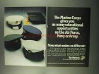 1974 U.S. Marines Ad - Educational Opportunities
