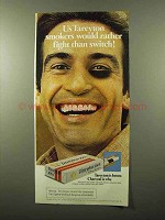 1975 Tareyton Cigarettes Ad - Rather Fight Than Switch
