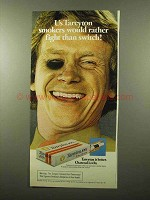 1975 Tareyton Cigarettes Ad - Fight Than Switch