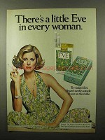 1975 Eve Cigarettes Ad - in Every Woman