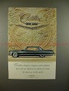 1961 Cadillac Ad - Only One Objective, The Finest Car!