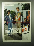 1975 Raleigh Cigarettes Ad - Full Flavor