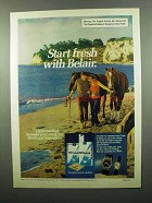 1975 Belair Cigarettes Ad - Start Fresh With