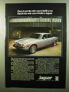 1975 Jaguar XJ6L and XJ12L Cars Ad - Not The Only Way