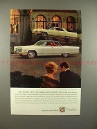 1966 Cadillac Sedan de Ville Ad - The Finest New Car!!