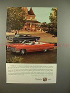 1966 Cadillac Car Ad - Our Best Friends are Chauffeurs!