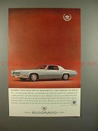 1967 Cadillac Eldorado Car Ad - So Beautifully So Well!