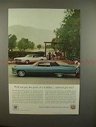 1967 Cadillac Car Ad - Will You Pay The Price?!